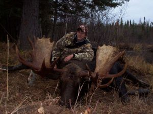 Northern Saskatchewan Trophy Moose Hunt